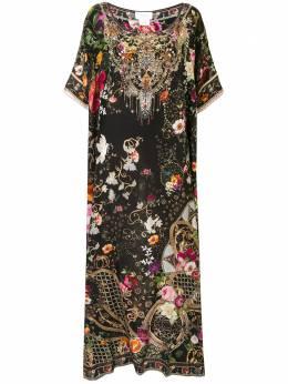 Camilla платье-кафтан с принтом 00004743