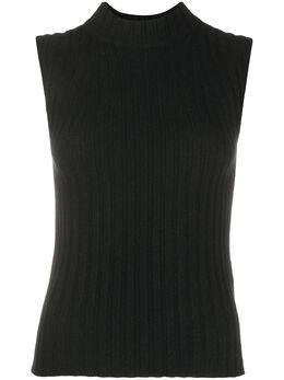 Vince sleeveless chunky-knit cashmere jumper V671378480