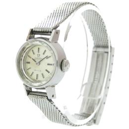 Omega Silver Stainless Steel De Ville Automatic Vintage Women's Watch 17 MM 313655