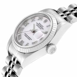 Rolex Datejust Mother of Pearl Dial Steel White Gold Ladies Watch 79174 Women's Wristwatch 26 MM 314932