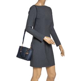MICHAEL Michael Kors Navy Blue Leather Mini Cynthia Crossbody Bag 313104