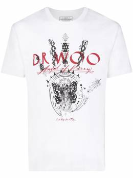 Neighborhood футболка с принтом из коллаборации с Dr Woo 201PCDWNST02S