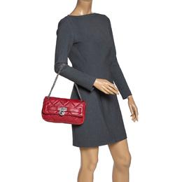 Michael Michael Kors Red Leather Shoulder Bag 313057