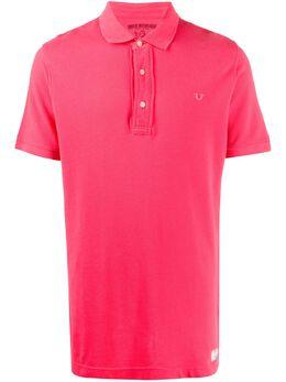 True Religion рубашка поло узкого кроя MJX8U82AB0