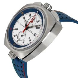 Omega White/Blue Stainless Steel Seamaster Bullhead Rio 522.12.43.50.04.001 Men's Watch 43 MM 314649