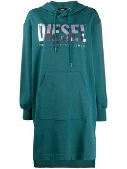 Diesel платье-толстовка с капюшоном 00SYWA0IAJH