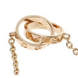Cartier Love 18K Rose Gold Bracelet 313145