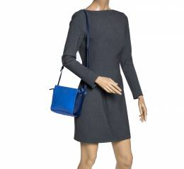 Kate Spade Blue Leather Cedar Street Crossbody Bag 310718