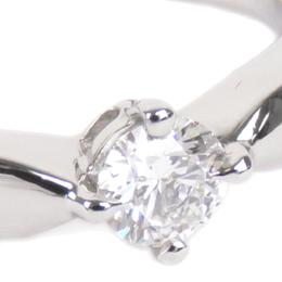 Bvlgari Dedicata a Venezia Silver PT950 Diamond Ring Size 52 311153