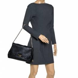Dior Black Cannage Leather Large Diorling Shoulder Bag 308728