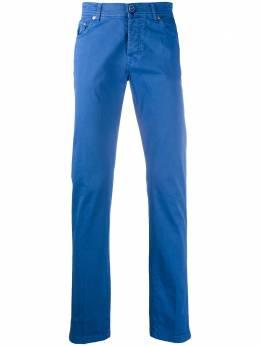 Kiton брюки чинос прямого кроя UPNJSMJ07S37
