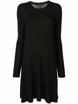 BCBGMaxAzria платье миди тонкой вязки EYK6Y570001