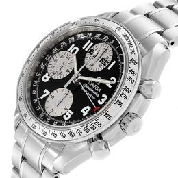 Omega Speedmaster Tripple Calendar Black Arabic Dial Watch 3523.51.00 Men's Wristwatch 40 MM 308165