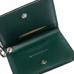 Burberry Black Leather Camberwellid Card Case Holder 310320