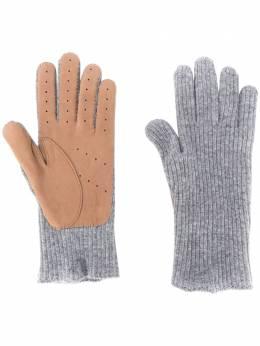 Brunello Cucinelli перчатки тонкой вязки M2294118CC069