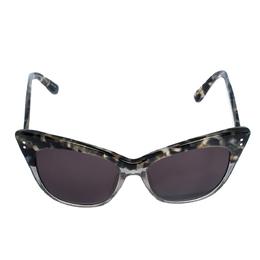 Erdem x Linda Farrow Marble & Grey Glitter / Brown 22 C3 Cat Eye Sunglasses 312557