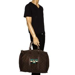 Louis Vuitton Monogram Mini Lin Initiales Keepall Bag 304160