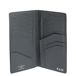 Louis Vuitton Grey Taiga Leather Brazza Wallet 306626