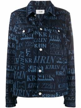 Kirin джинсовая куртка с принтом KWYE003F20DEN0034940