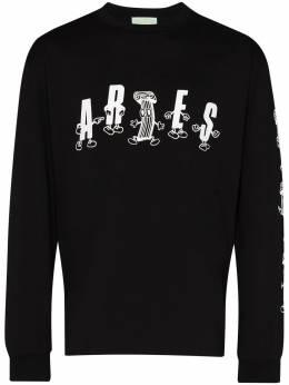 Aries футболка Aries с логотипом FRAR60013