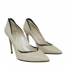 Casadei Grey Leather Pumps 302776