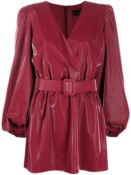 Federica Tosi платье с запахом и поясом AB1140EP0028