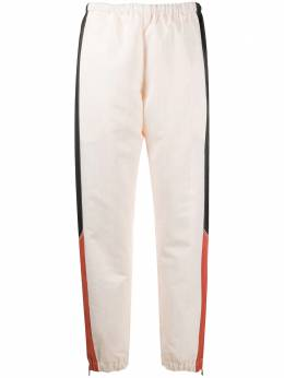 Marine Serre брюки с контрастными вставками P011FW20W