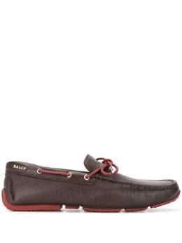 Bally мокасины со шнуровкой 6231343