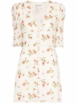 Reformation платье Alison на пуговицах с цветочным принтом 1306319FLE
