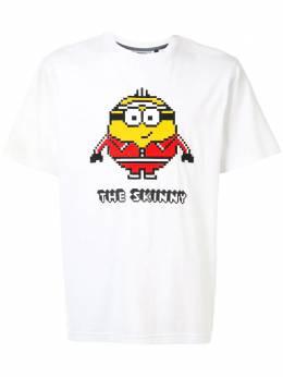 Mostly Heard Rarely Seen 8-Bit футболка с графичным принтом Minions MHEB08BJT12