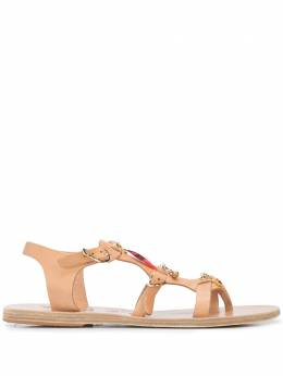 Ancient Greek Sandals сандалии Grace Kelly с подвесками GRACEKELLYCHARMS