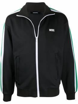 Diesel куртка на молнии с полосками A001230KUTI