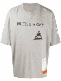Heron Preston футболка British Army HMAA019F20JER0100910