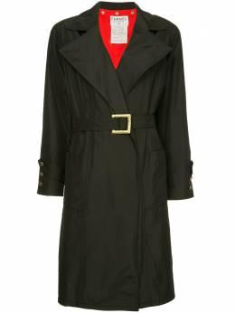 Chanel Pre-Owned wide lapels midi coat PO3475