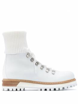 Le Silla ботинки на шнуровке 7506R040M1PPCHI