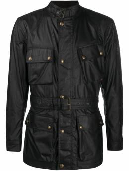 Belstaff куртка с поясом и карманами 71050519C61N0158