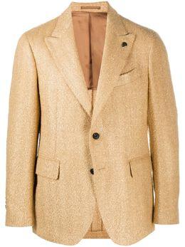 Gabriele Pasini пиджак с узором в елочку G16067GP16463