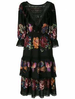 Cecilia Prado платье миди Miah с принтом 20039