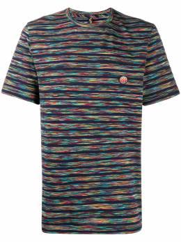Missoni Mare полосатая футболка с нашивкой-логотипом I17MU536090