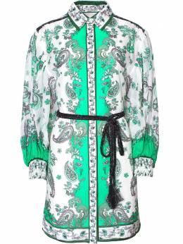 Alice + Olivia платье-рубашка Oralia CC005P76503