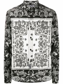 Versace Jeans Couture рубашка с принтом пейсли EB1GZA6R2ES0859