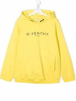 Givenchy Kids худи с вышитым логотипом H15171