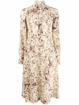Etro платье-рубашка с принтом пейсли 190285097