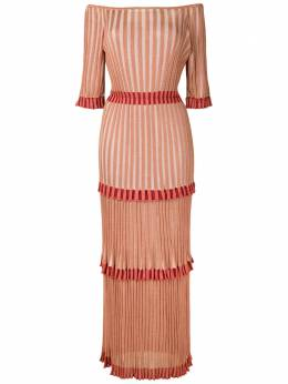 Cecilia Prado длинное платье Núbia 20080