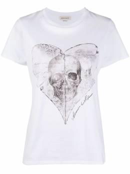 Alexander McQueen футболка с принтом 642479QZAB9