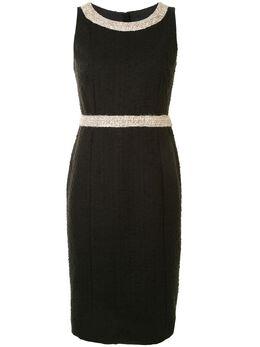 Paule Ka декорированное платье миди 111R060