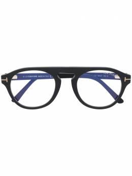Tom Ford Eyewear очки со съемными затемненными линзами FT5533BV