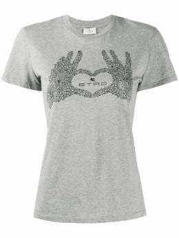 Etro футболка с принтом 192429079