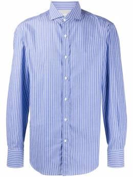 Brunello Cucinelli рубашка в полоску MN6701718C007