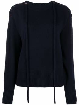 See By Chloe tie shoulder knit jumper CHS20AMP145704A7